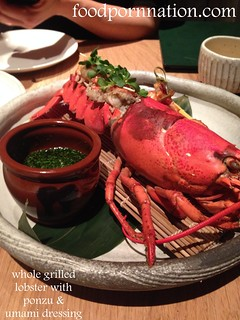 whole grilled  lobster with ponzu &  umami dressing | by Priscilla @ Food Porn Nation