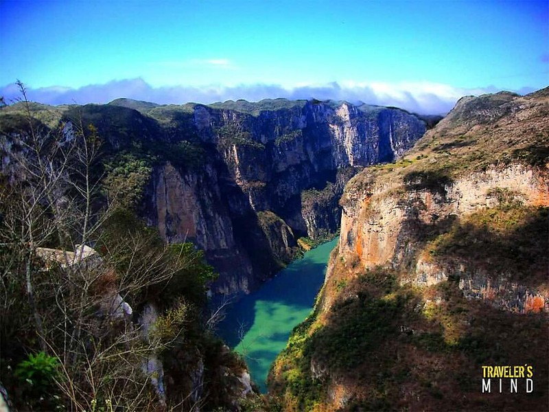 Cañón del sumidero #chiapas #travel #river #green #nature #mountains #mobilephotography #naturelover