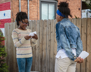Students from Old North-After School perform Twelfth Night on N. 14th Street | by shakesfestSTL