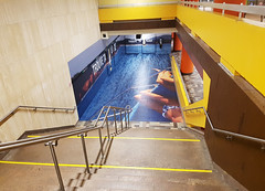 Métro McGill Swimming Pool Advertising
