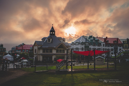 canonefm28mmf35macroisstm lens shadows adobelightroomcc 2016 mirrorless clouds drama monttremblant alienskinexposurex summer review dustinabbottnet canoneosm3 travel thousandwordimages photography comparison sky adobephotoshopcc test quebec canada photodujour dustinabbott québec ca pedestrianvillage laforge homewoodsuites