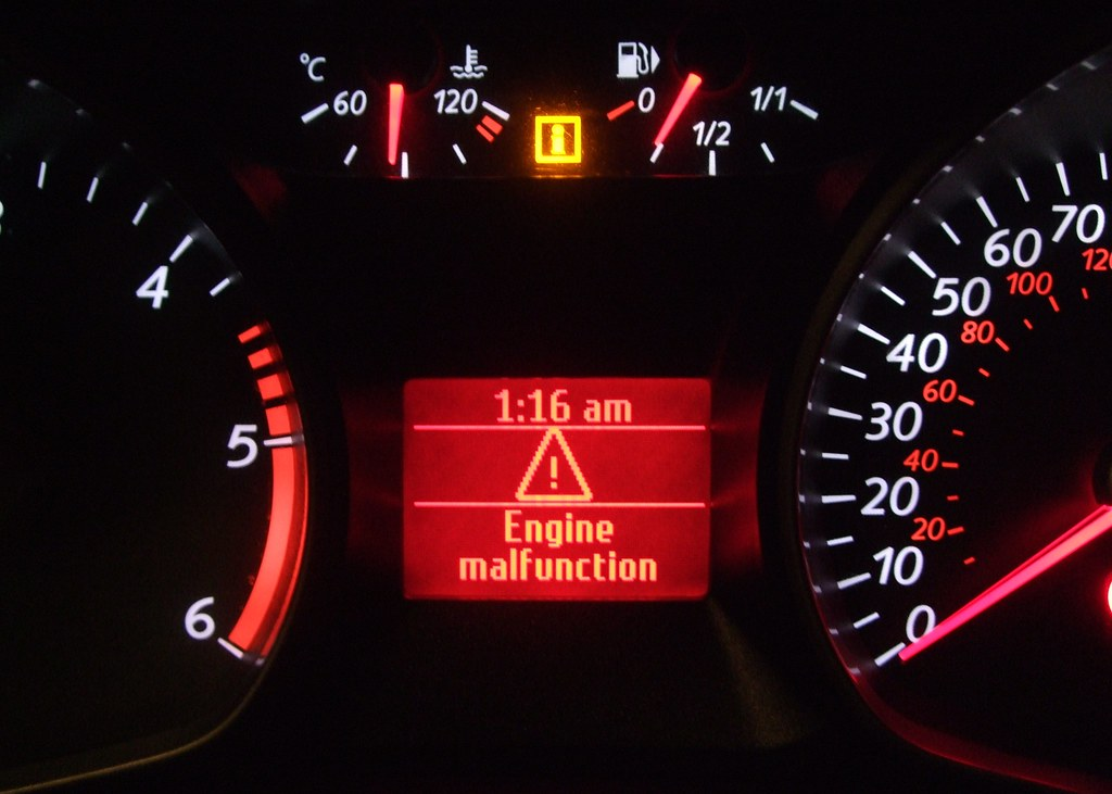 2007 2014 Ford Mondeo Engine Malfunction Warning Message Flickr