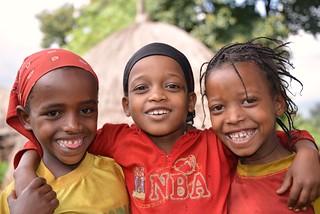Village Girls, Ethiopia | by Rod Waddington