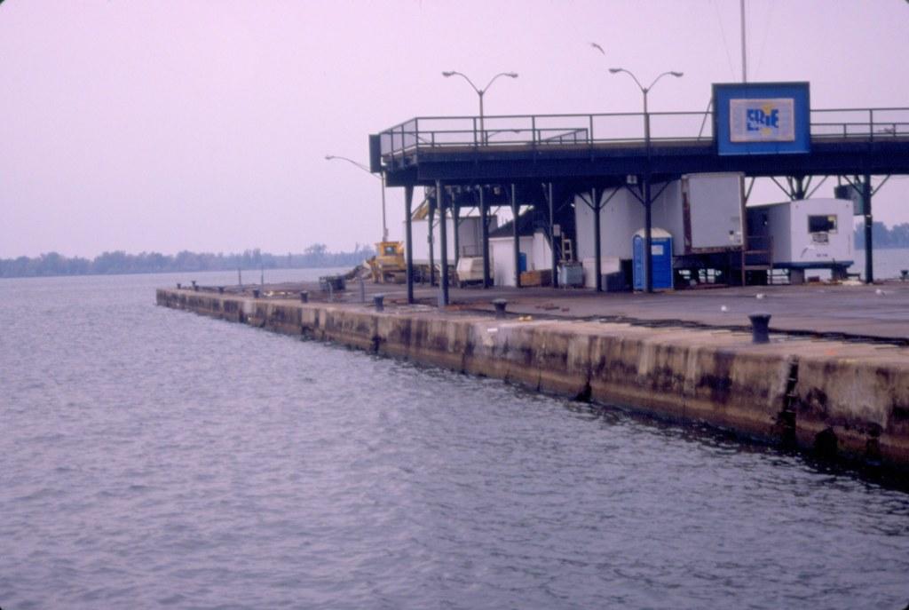 Public Dock and Erie Bay Pennsylvania Postcard