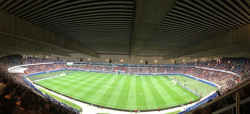 Parc de Princes Stadium, Paris Saint Germain