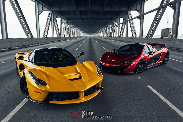 IMG_2807  Ferrari LaFerrari and McLaren P1