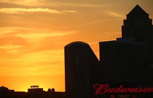 budweiser sunset ballpark sectaylor principlepark