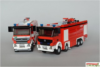 Mercedes Actros Fire Truck | by Smigol_