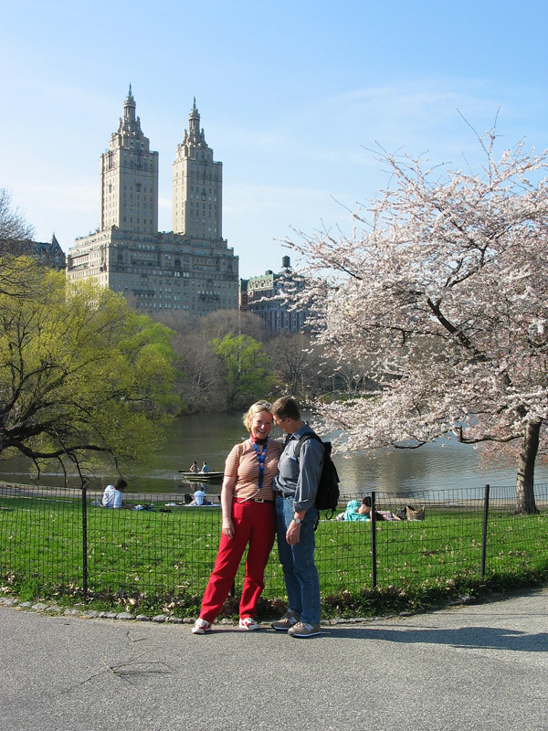 Helene and Erich in Central Park