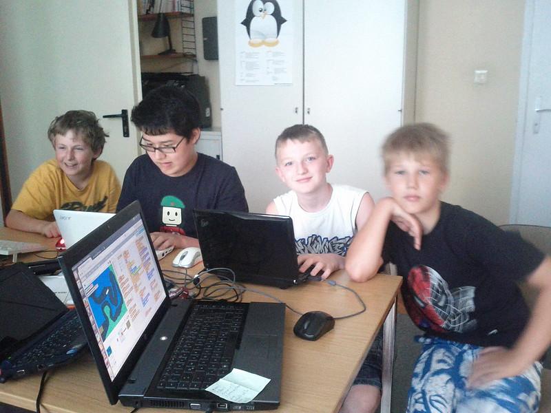 Kinder-Programmierkurs