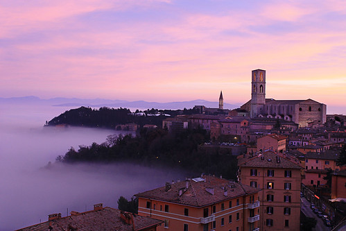 Perugia sunset | by marcosmallred
