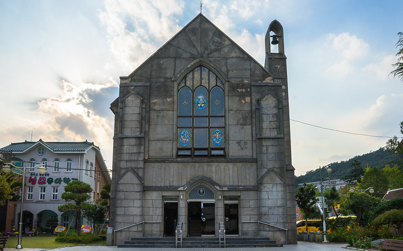 Kyeongdong Catholic Church, Mokpo, South Korea