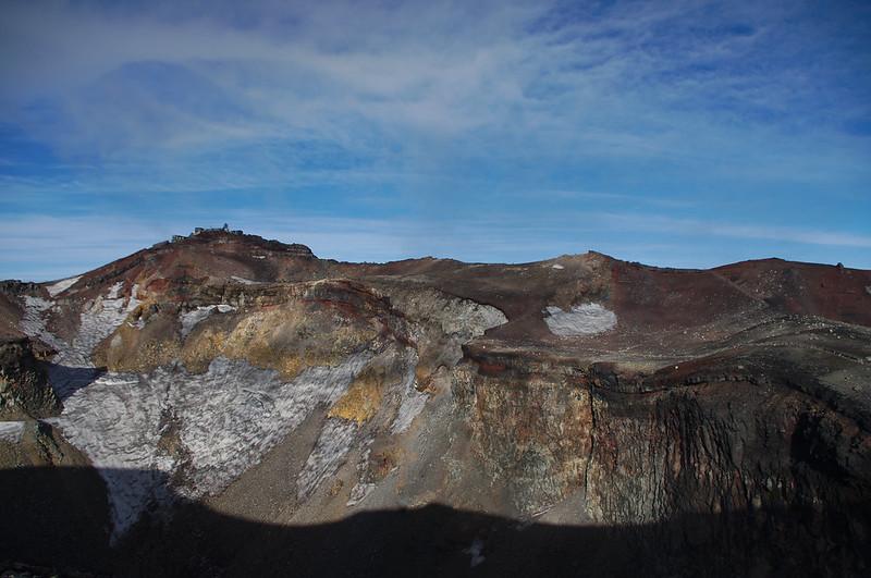 Cratère du volcan