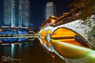 Chengdu Anshun bridge by plej_photo - 乐让菲力