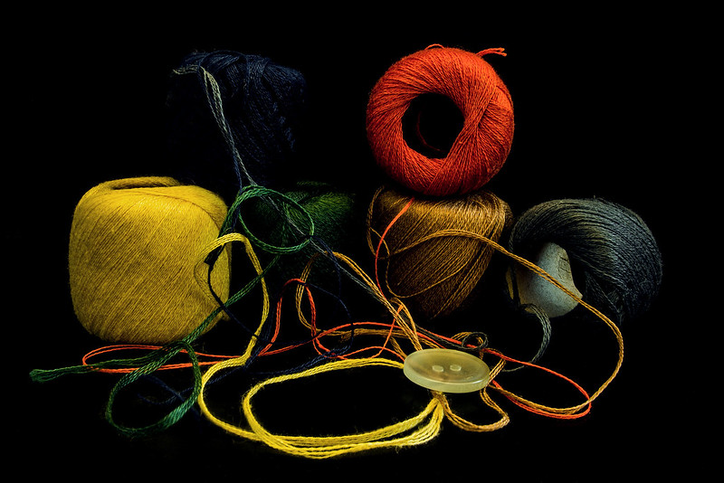 more than one color to stitch a nub