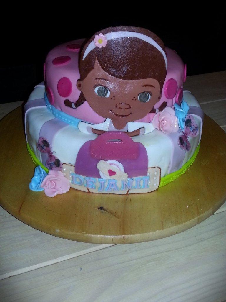 Admirable Fullbloomcakes Dejaniis Doc Mcstuffins Birthday Cake T Flickr Funny Birthday Cards Online Eattedamsfinfo
