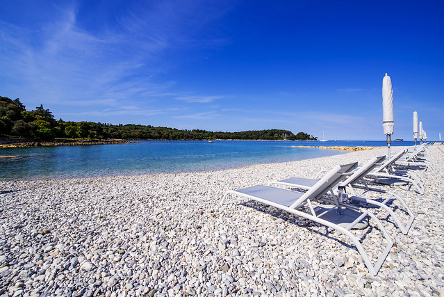 Place to relax in Rovinj - Croatia