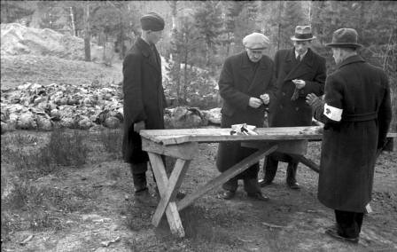 Trabajos de identificación en Katyn