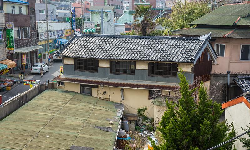 Colonial Japanese house (Han Deok-won), Gampo, South Korea