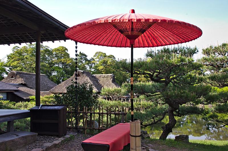 Pavillon de thé de Genkyuen
