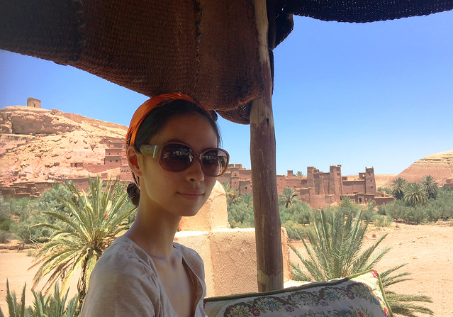In Ait Benhaddou