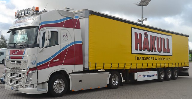 Volvo FH - Håkull Transport & Logistics - Tallaksen  Arendal Norwegen - N  PD 45801