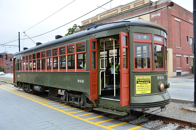 Lowell Heritage Trolley #966
