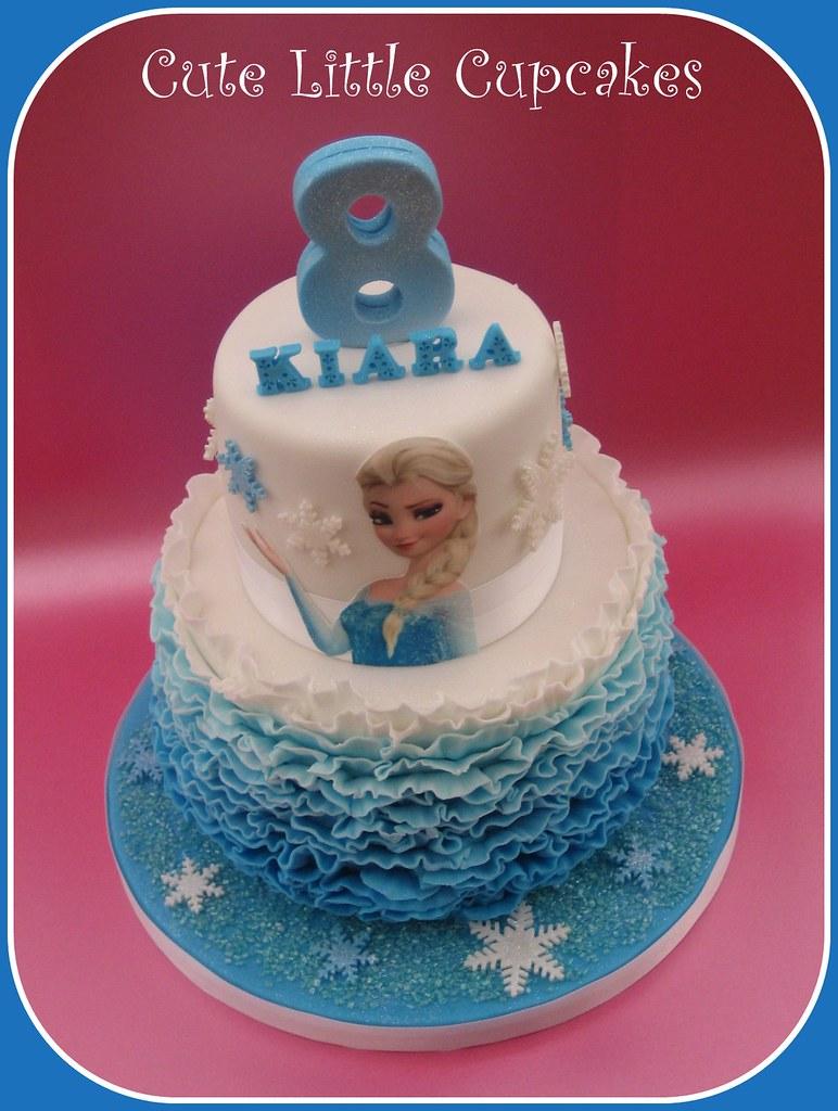 Super Frozen Birthday Cake Design Credit Always With Cake Heidi Personalised Birthday Cards Paralily Jamesorg