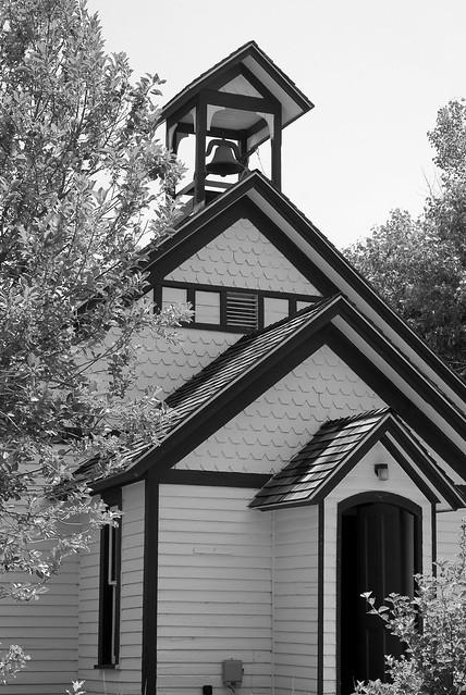 Old Schoolhouse B&W