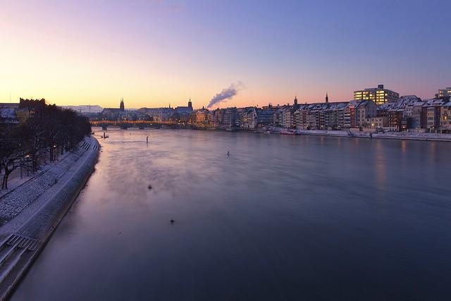 Blue Hour Over Basel I