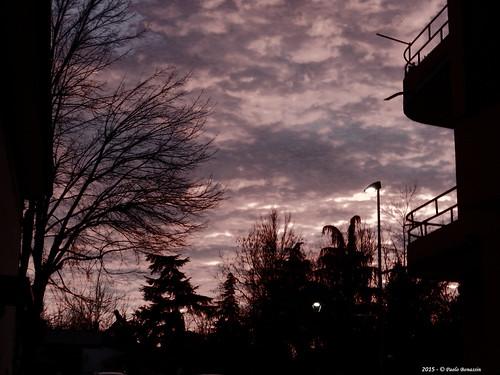 italy emiliaromagna zolapredosa tramonto sunset clouds nubi wolke cielo sky
