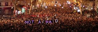 #JesuisCharlie. We're not afraid. Paris, 7 Janvier 2015 | by f.rohart