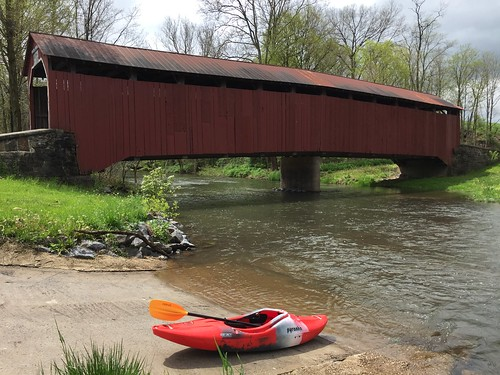 Kayaking Shermans Creek, May 7, 2016 | by dziner