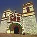Peru, Arequipa province, Colca valley, Maca, Iglesia de Santa Ana