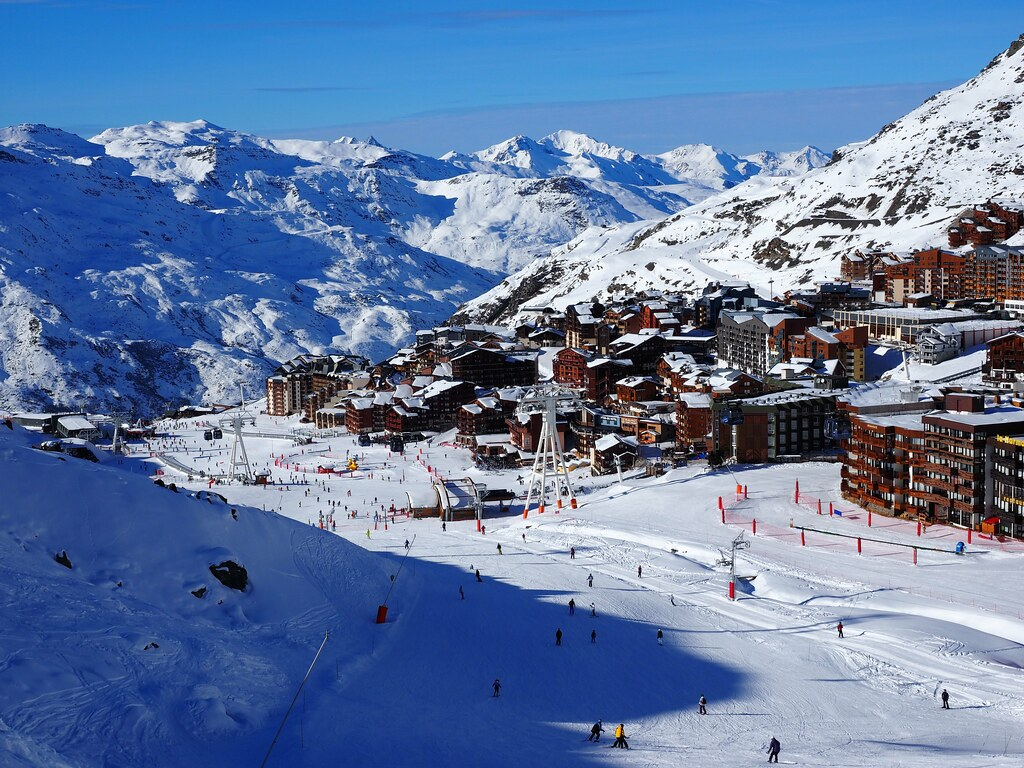 Extreme Environments - Val Thorens, French Alps, France