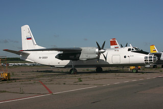 RA-30001. An-30. Myachkovo Air Services. BKA.