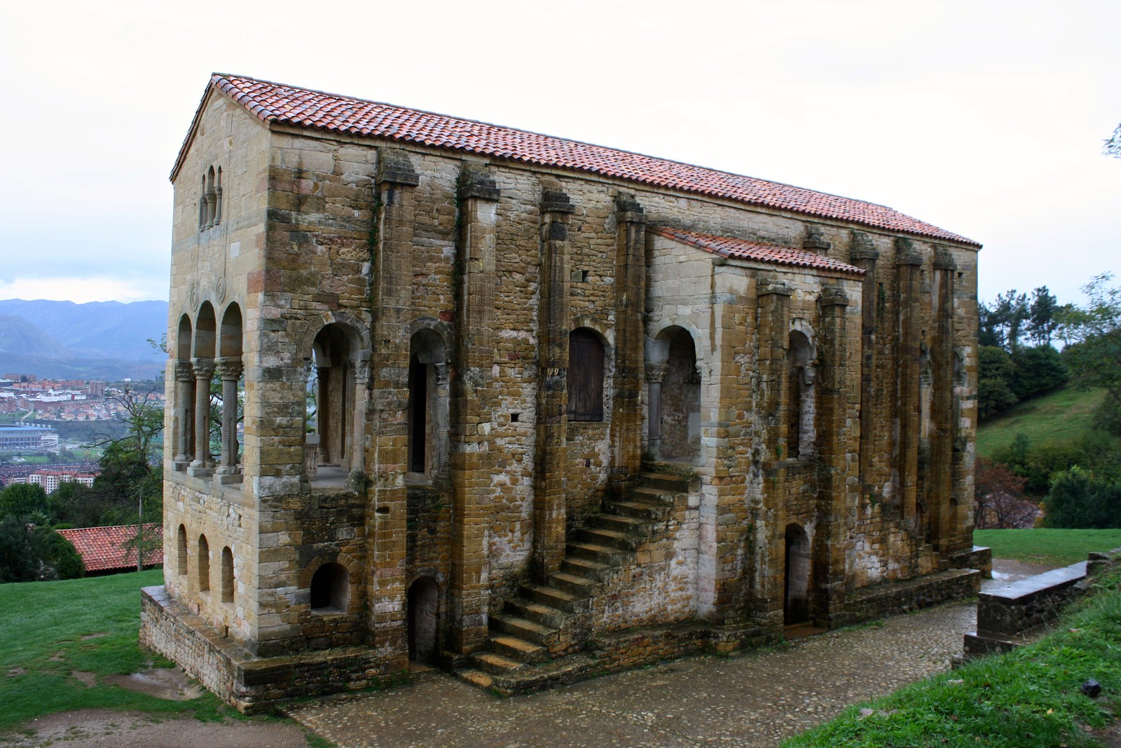 Pre-romanesque churches of Oviedo, Spain