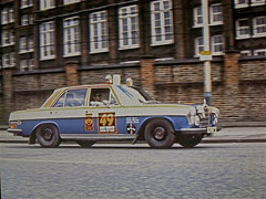 Mercedes rally car London Mexico Rallye 1970