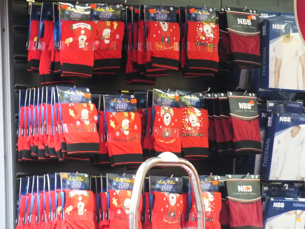 New Year red underdress for boys