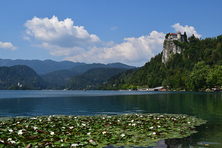 Bled Castle + Assumption of Mary Church @Bled, Slovenia | by Aaron Kyle
