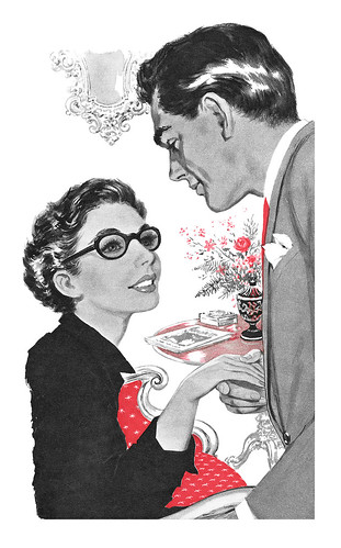 1956 illustration by Eric Earnshaw   by totallymystified