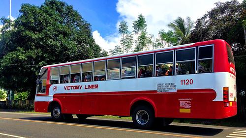 victory liner 1120 olongapo city sta santa cruz candelaria zambales philippines bus ordinary fare