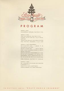 Program for Scankraftmøtet i Oslo (1938)
