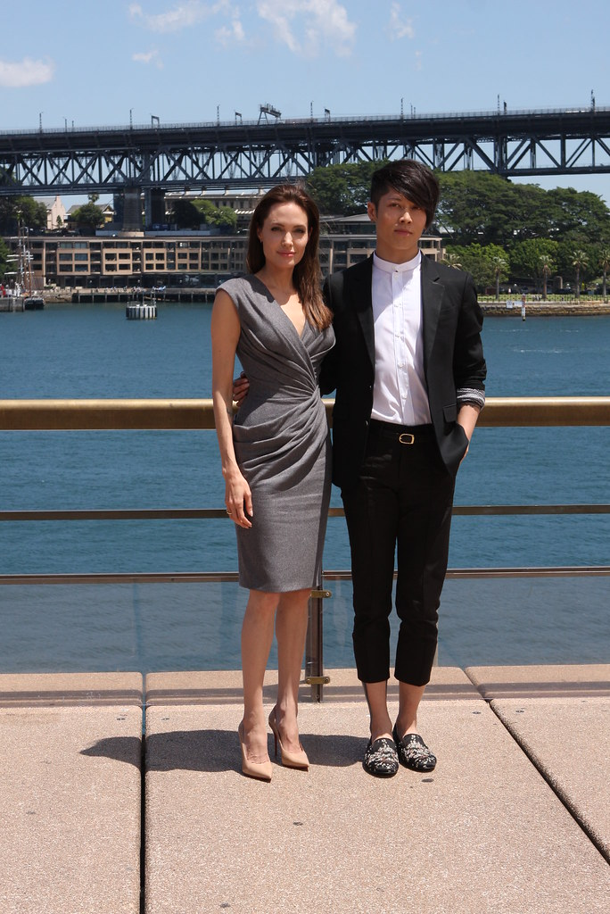 Angelina Jolie Miyavi Unbroken Photo Call Sydney Flickr
