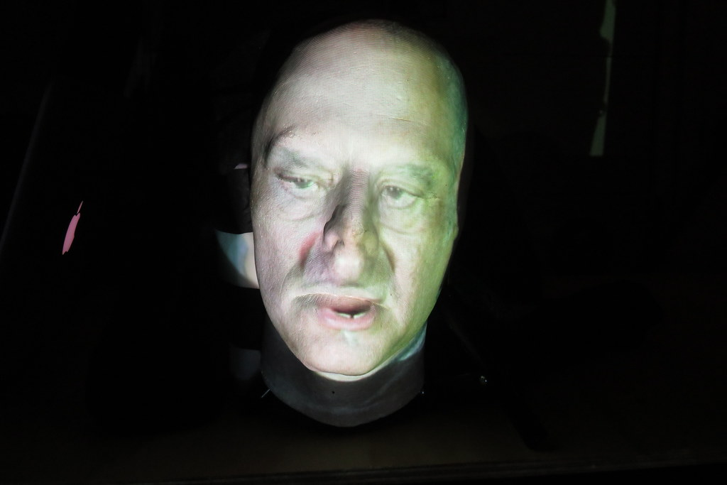 Life Cast Projection Test 2 | Dr  Figurine and I would like