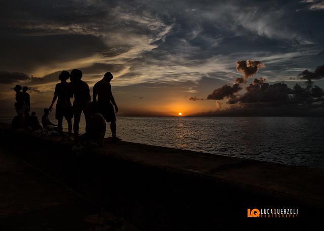 Tramonto sul Malecon