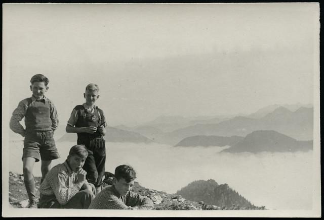 Archiv G979 Über den Wolken, 1950er