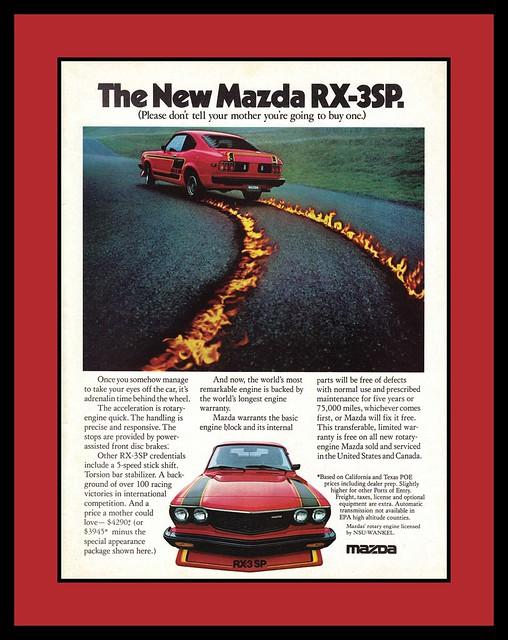 Mazda RX-3SP, 1977
