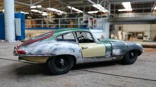 Jaguar E type rusty (13) | by www.MODELCARWORKSHOP.nl