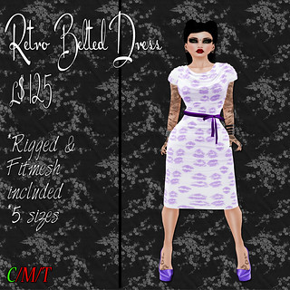SC Retro Belted Dress - Smooches Ad